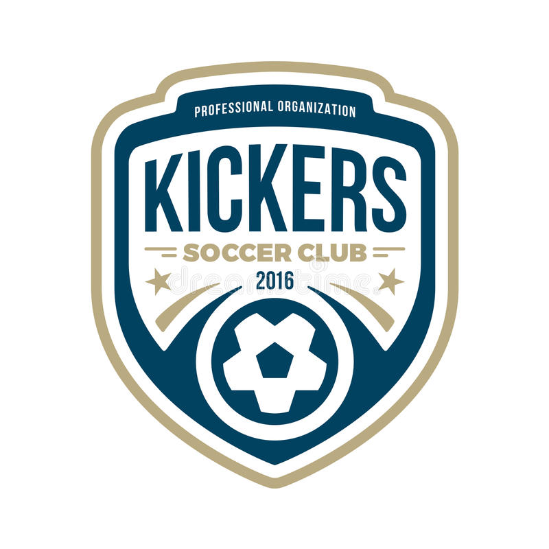 Free Soccer Crest Stock Images - 54641994