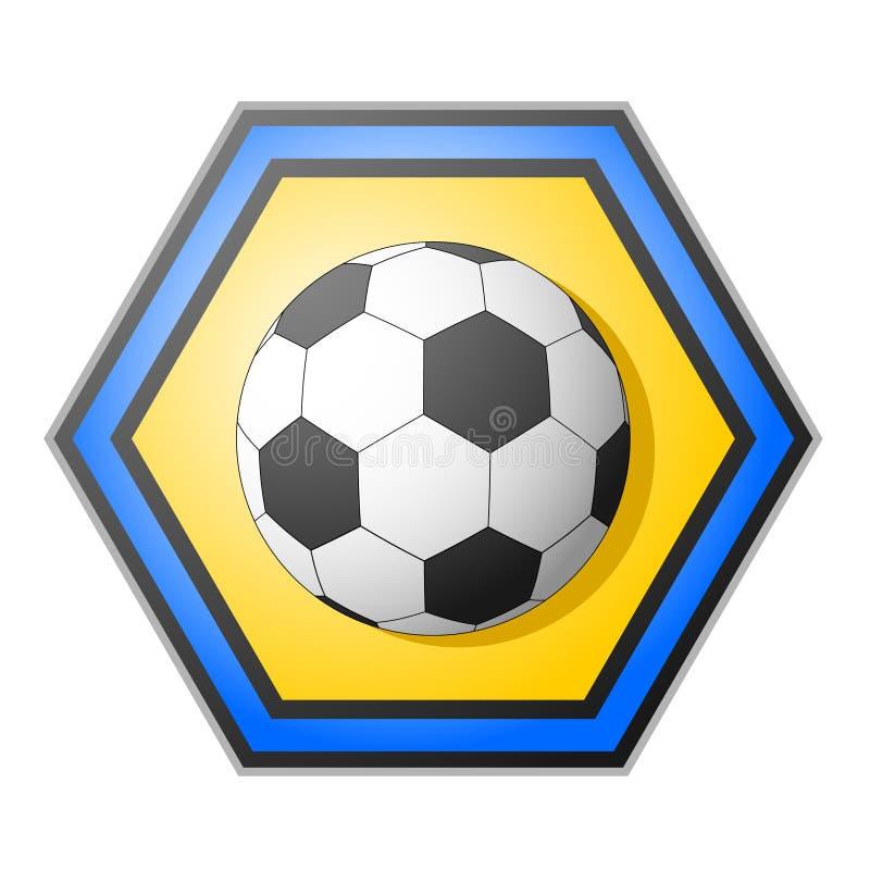 Download Soccer emblem stock vector. Image of sport, illustration - 20686340