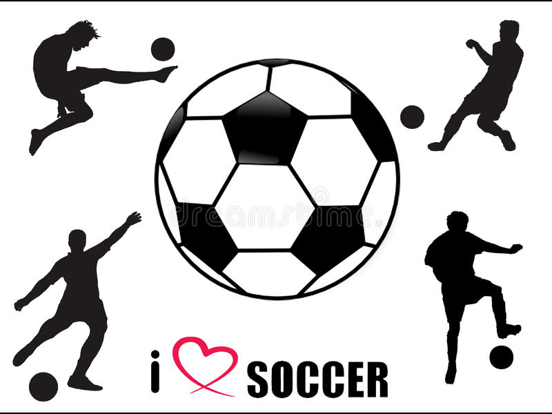 Download Soccer Fan Symbols Royalty Free Stock Image - Image: 25968646
