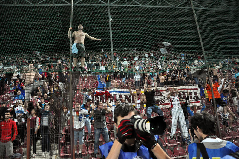 Download Soccer fans editorial photo. Image of game, audience - 24783516