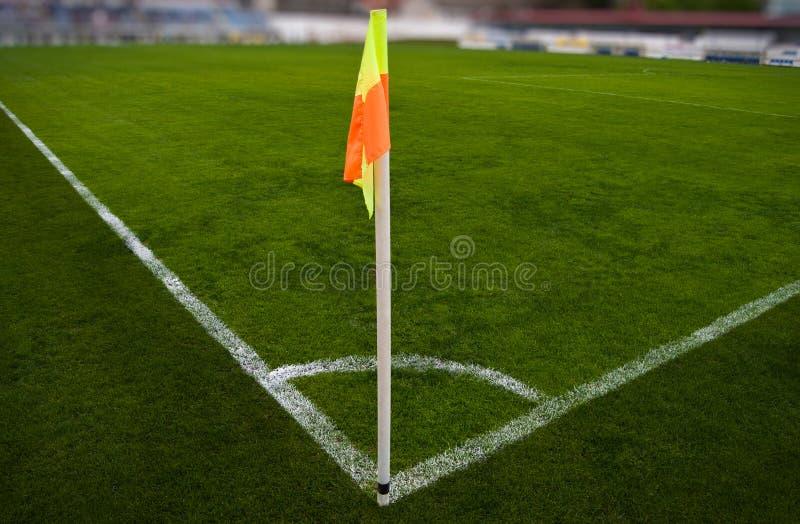 Soccer field royalty free stock photos