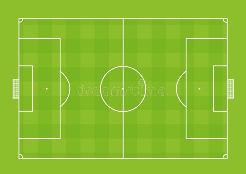 Download Soccer field stock illustration. Image of corner, line - 17543065