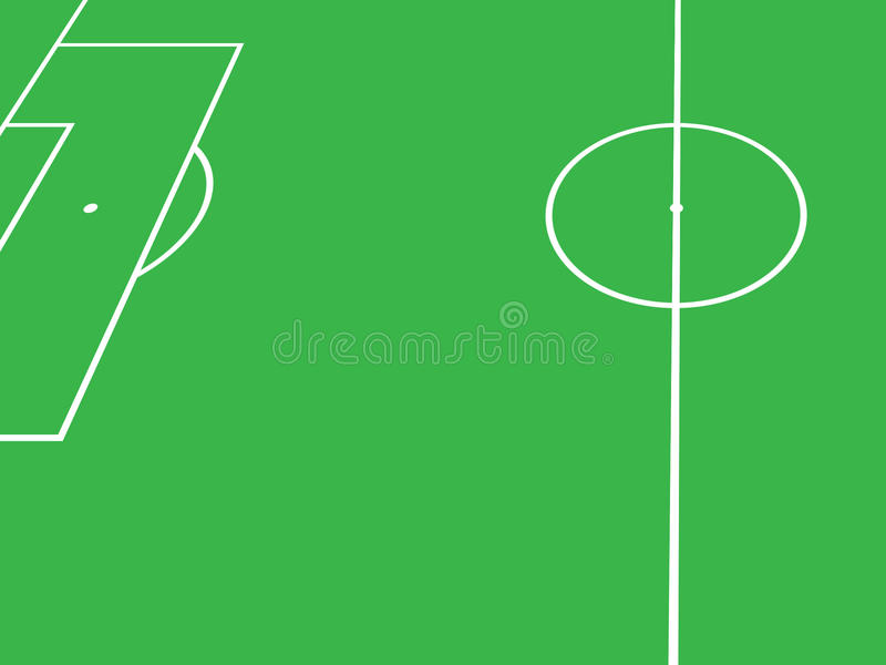 Download Soccer field stock illustration. Image of sport, penalty - 20848867