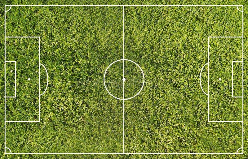 Soccer field stock illustration