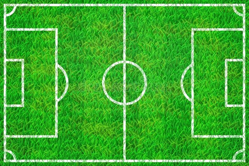 Soccer field background royalty free illustration