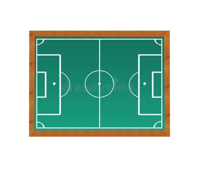 Download Soccer field stock illustration. Illustration of lines - 39506843