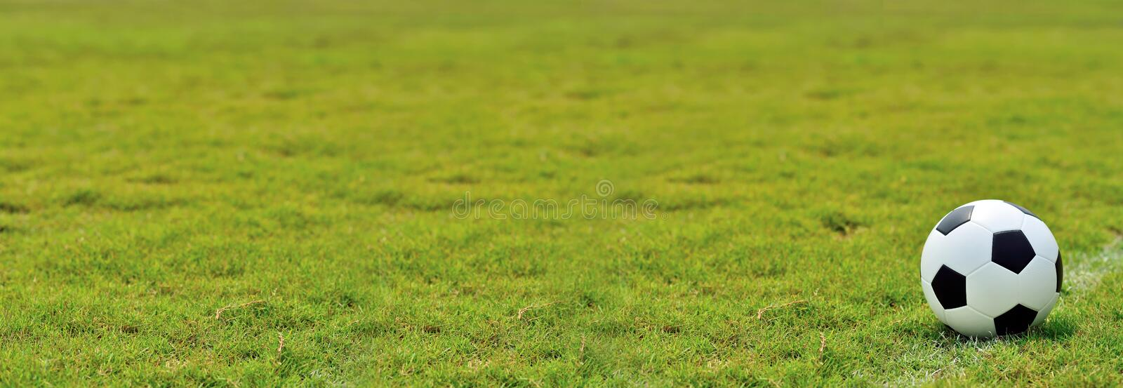 Soccer field and the bright lights stock photos