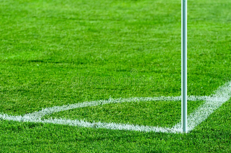 Download Soccer Field Corner Stock Photo - Image: 16321250