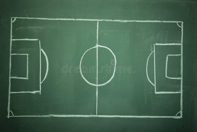 Soccer Field -Football Royalty Free Stock Photo