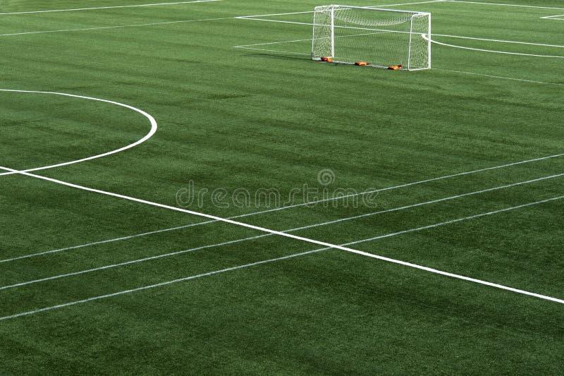 Soccer field grass stock photos
