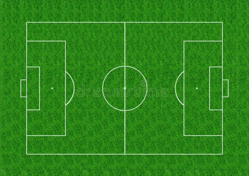 download soccer field layout on green grass background stock illustration of play areas green grass soccer field n49 green