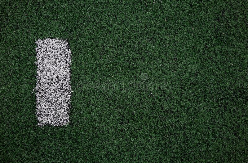 soccer field marking close up royalty free stock photo