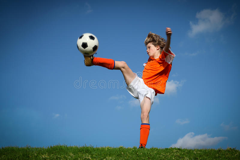 Soccer football stock photos