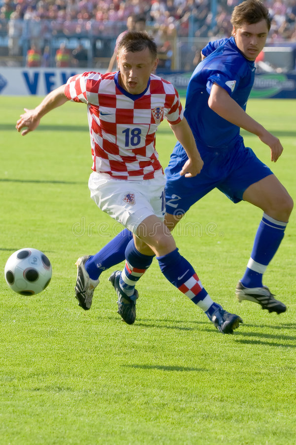 Download Soccer or football editorial stock photo. Image of boots - 6203163