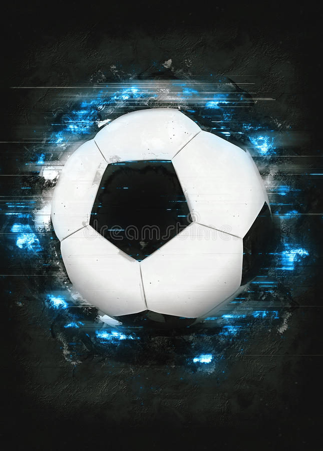 Soccer or football background royalty free stock photos
