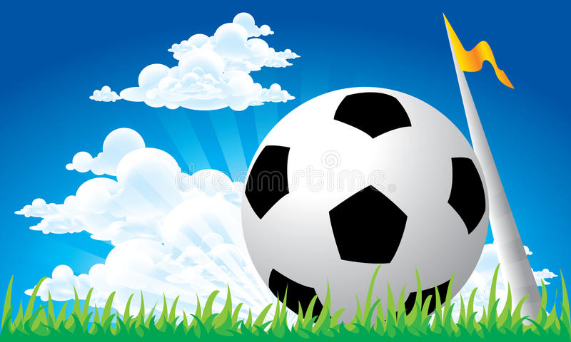 Download Soccer Football Corner Kick Royalty Free Stock Images - Image: 25151609