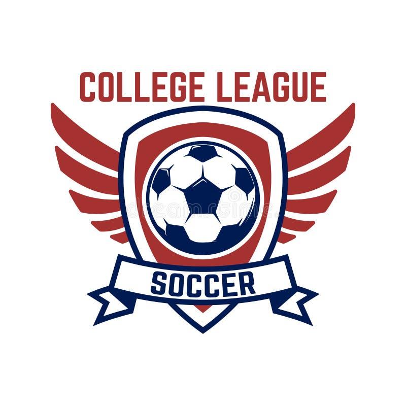 Soccer, Football Emblems. Design Element For Logo, Label