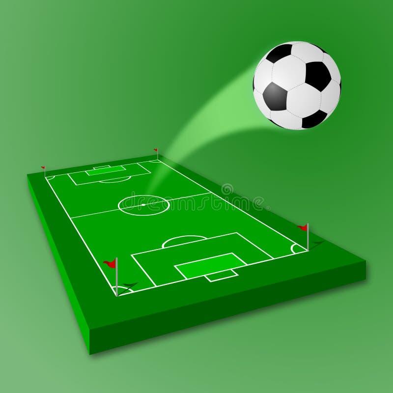 Soccer / Football Field Stock Photos