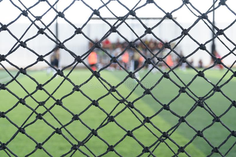 Soccer or football net background, royalty free stock image