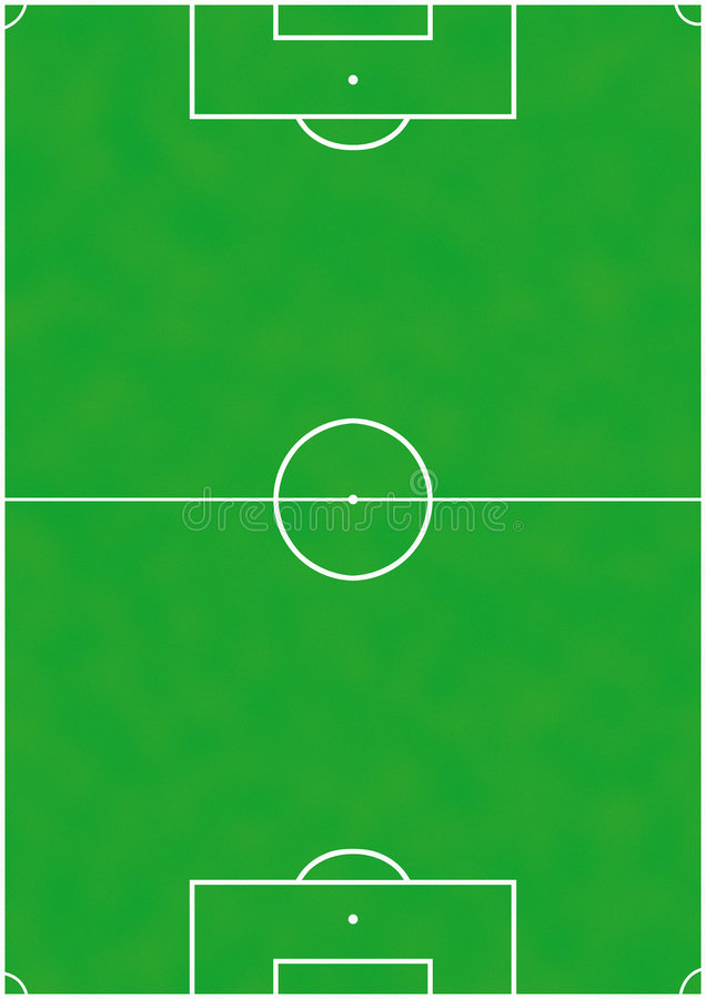 Download Soccer or football pitch stock illustration. Image of texture - 1518274