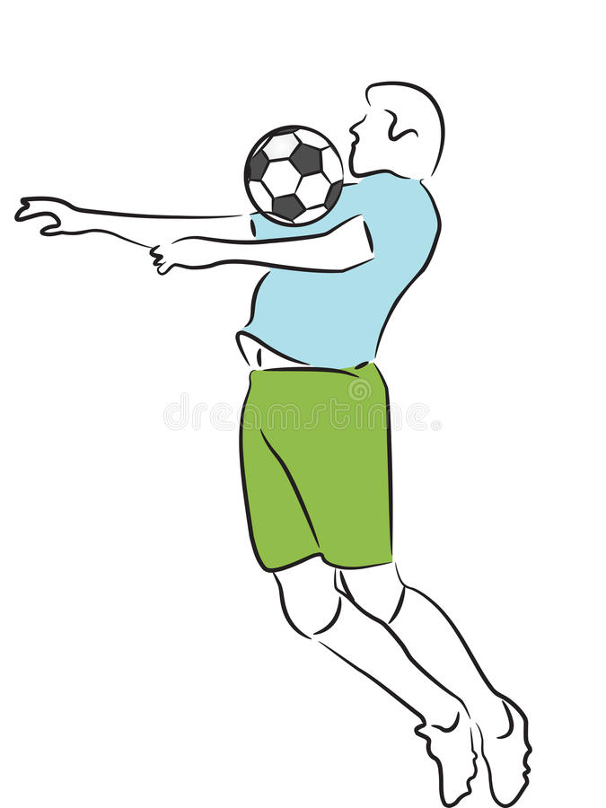 Soccer/Football Player vector illustration