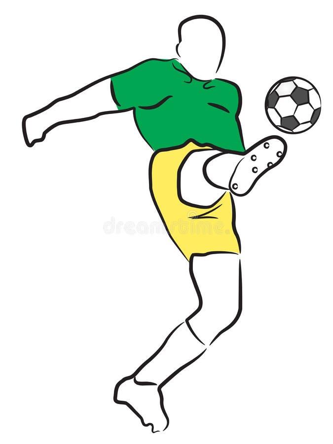 Soccer/Football Player Stock Image