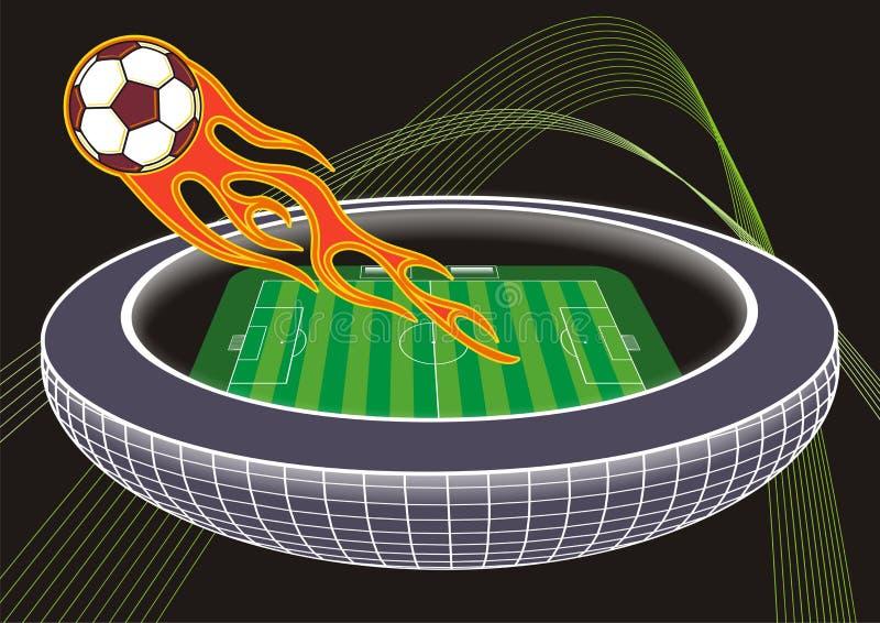 Soccer / Football stadium royalty free stock image