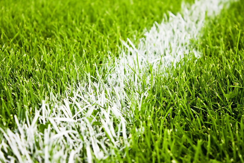 Soccer Or Football Stripes Stock Photo