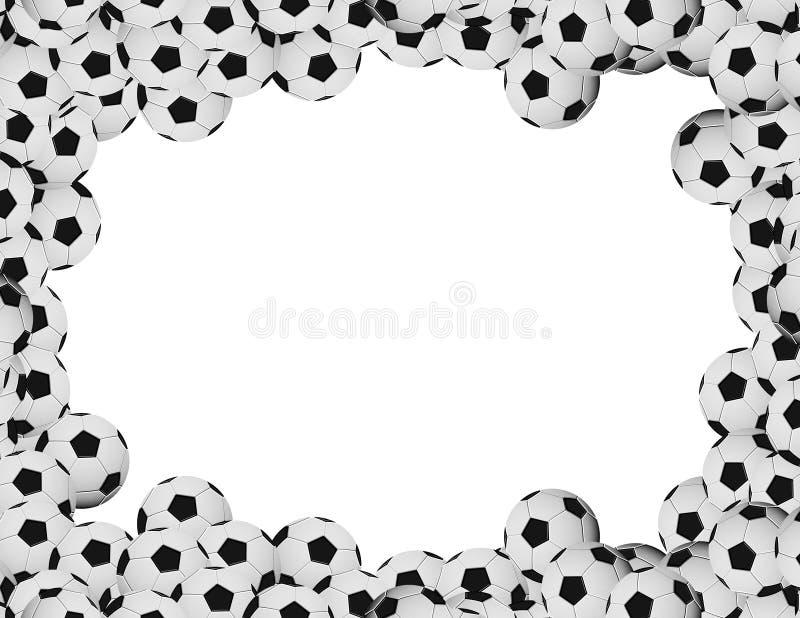Soccer frame stock illustration. Illustration of sphere - 5393440