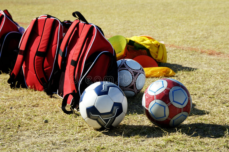 Soccer Gear royalty free stock photo