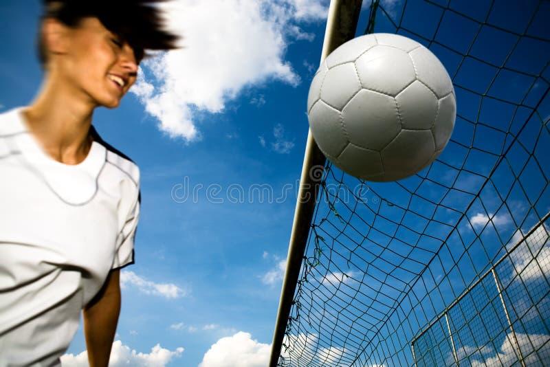 Soccer Girl Royalty Free Stock Photo