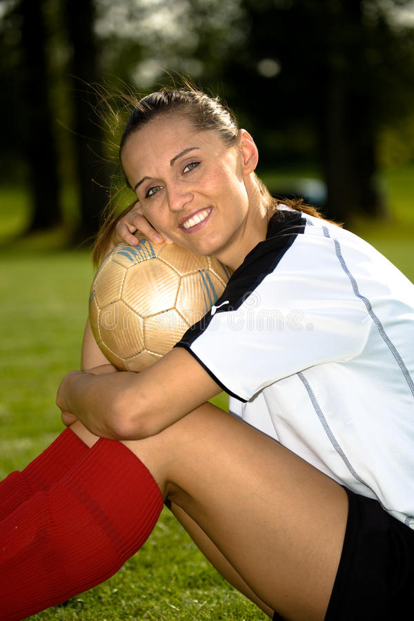 Download Soccer girl stock photo. Image of league, ball, competitive - 10547824