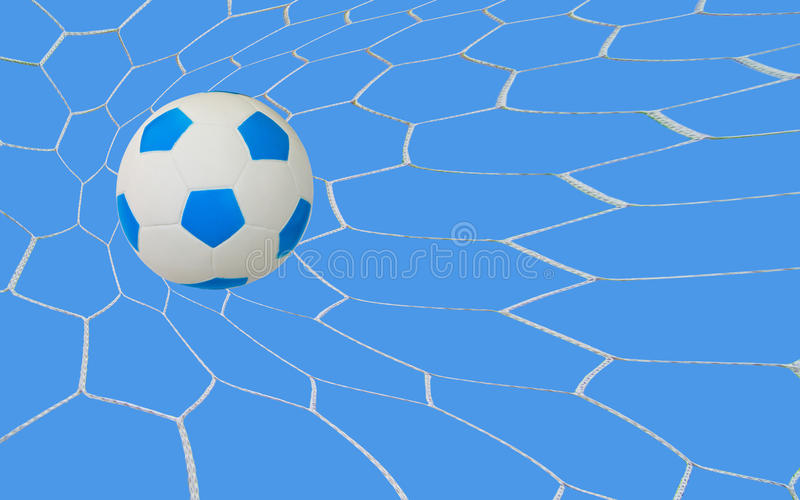 Soccer goal vector illustration