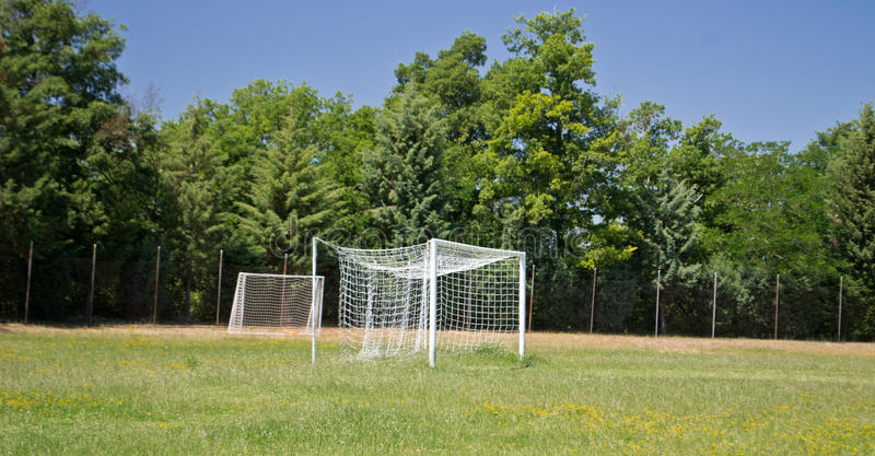 Soccer Goal Football Goal royalty free stock photography