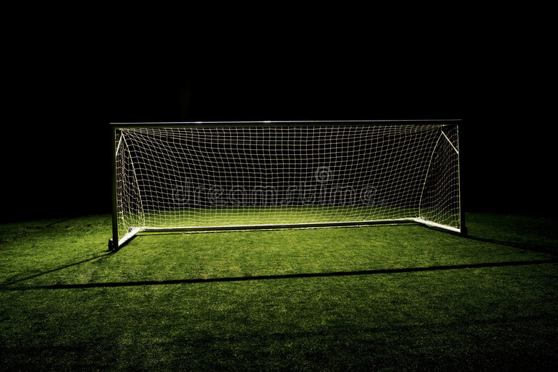 Soccer Goal Football Goal stock photos