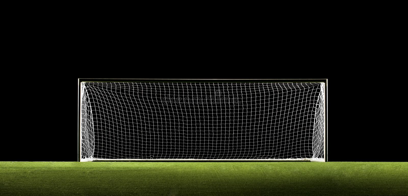 Download Soccer Goal Football Goal stock illustration. Image of grass - 6014698