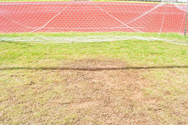 Download Soccer goal net stock photo. Image of close, netting - 32127192
