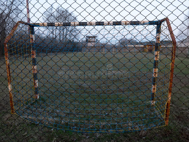 Soccer grounds royalty free stock image