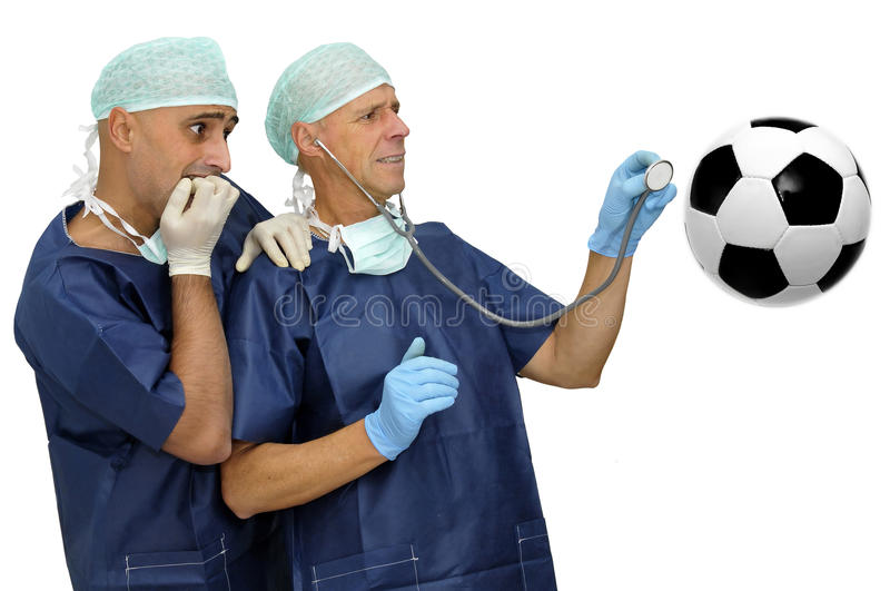 Soccer Health Stock Photography