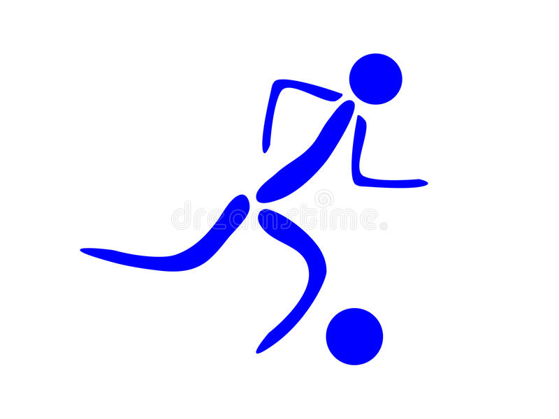 Download Soccer icon stock illustration. Illustration of person - 14661627