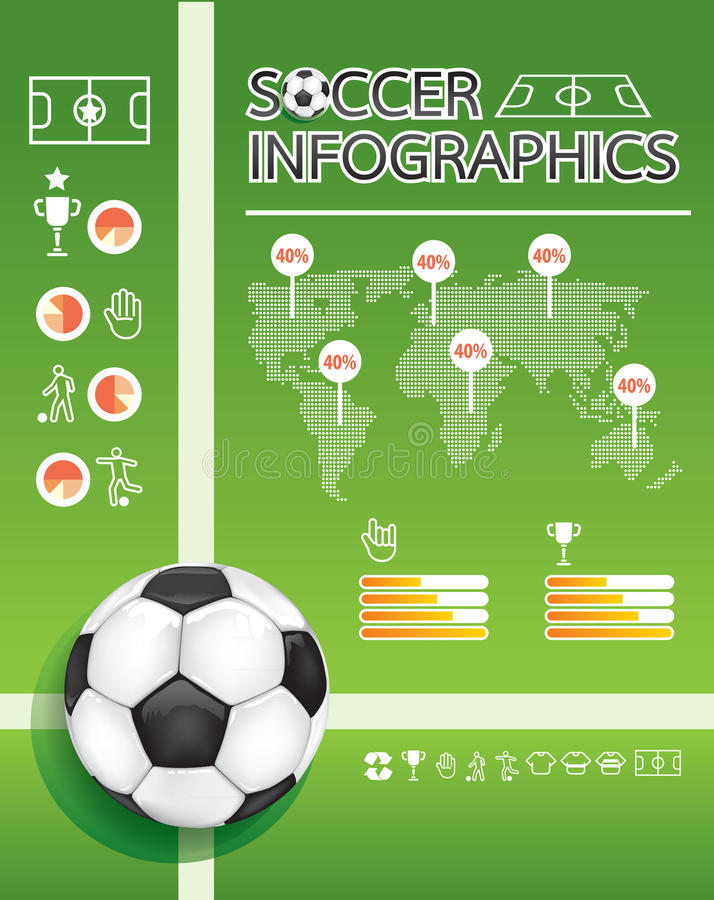 Download Soccer Info Graphic Royalty Free Stock Photo - Image: 28671145