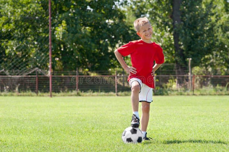 Soccer kid stock images