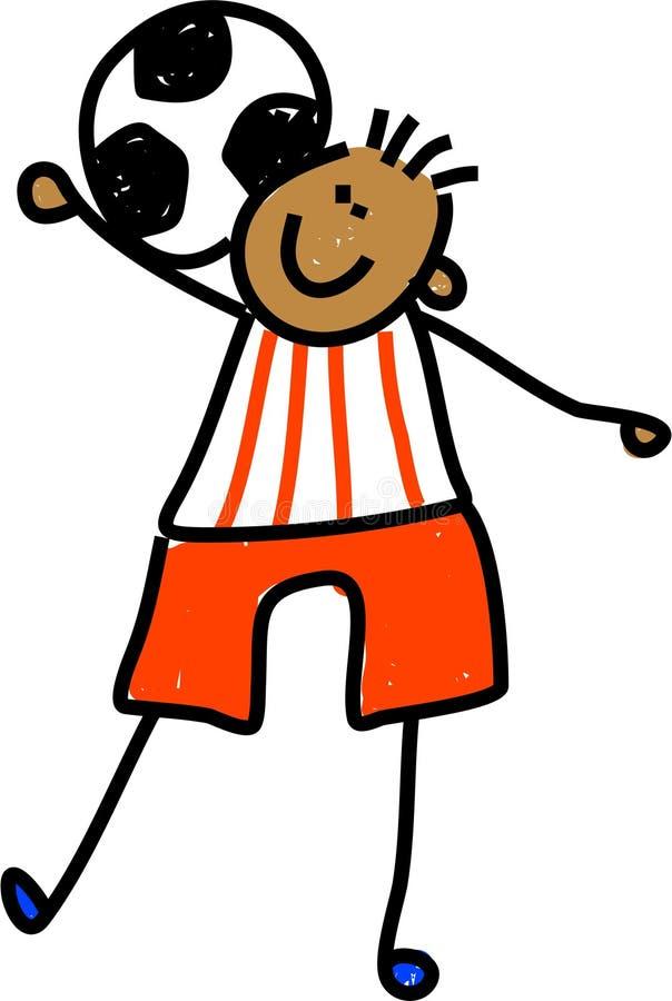 Download Soccer kid stock illustration. Illustration of toddler - 2547926