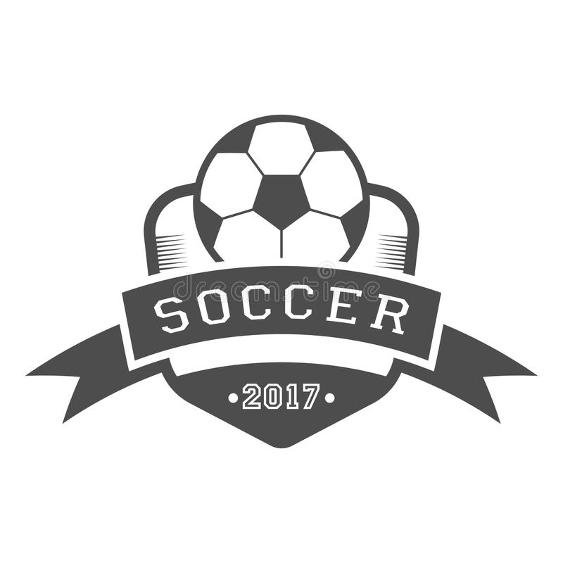 Set Soccer Football Badge Logo Design ベクター画像素材 235912426 ...