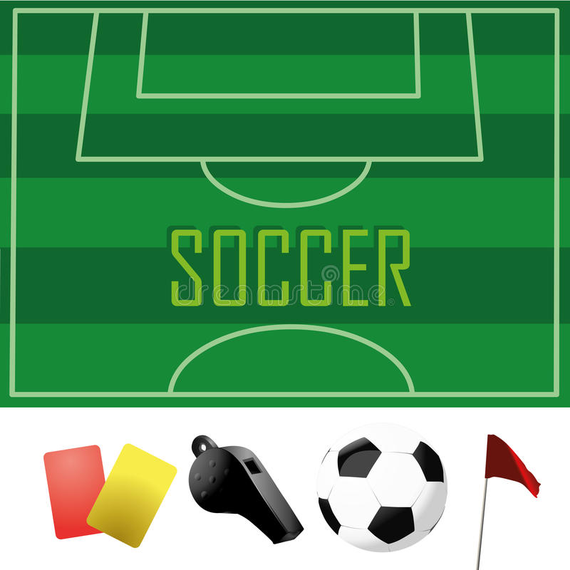 Download Soccer stock vector. Image of background, icon, drawing - 36078665