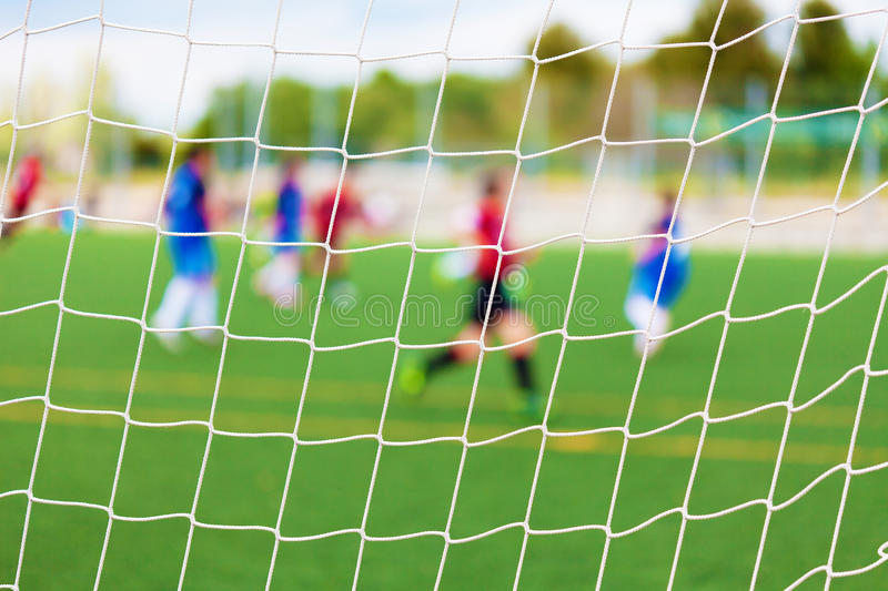 Download Soccer Match Selective Focus Stock Image - Image: 32825983