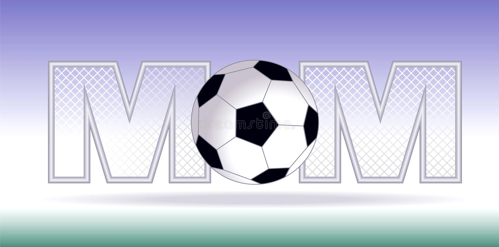 Soccer Mom royalty free stock photography