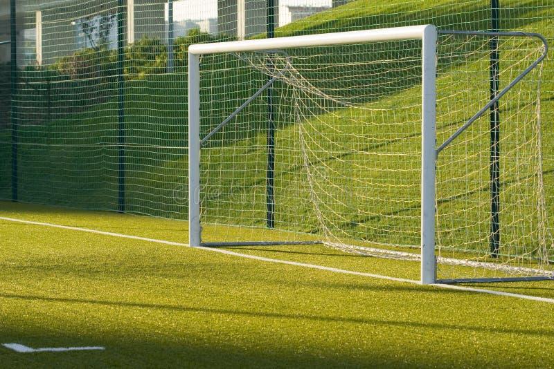 Soccer net royalty free stock photography