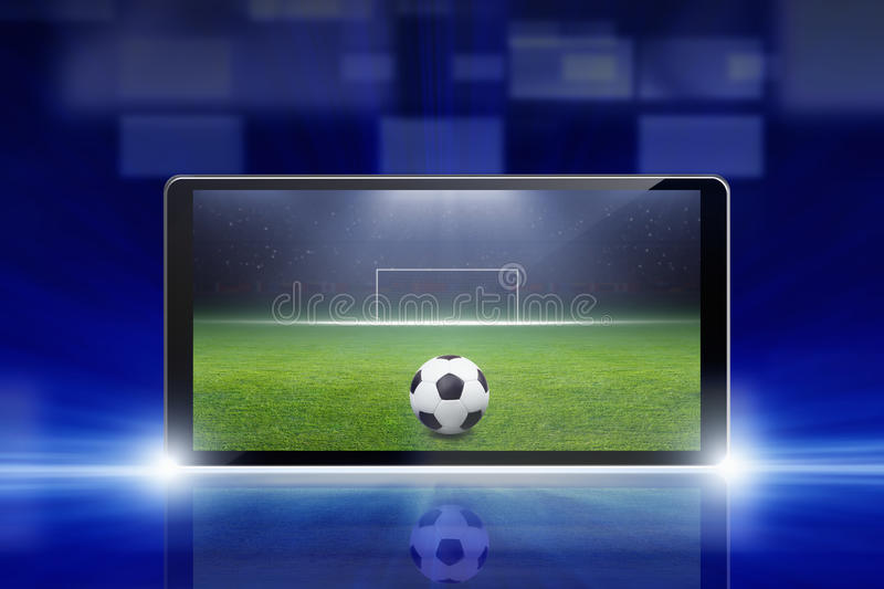 Download Soccer online stock image. Image of green, goal, competition - 33675093