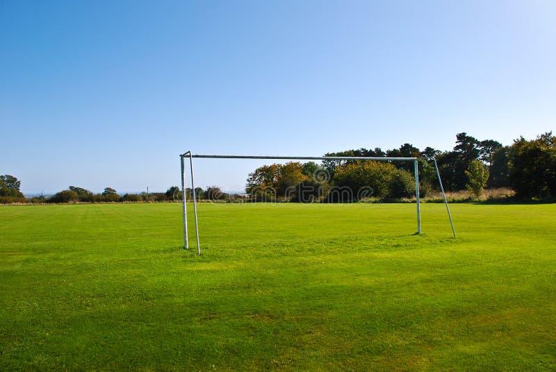 Download Soccer Pitch stock image. Image of goalpost, horizon - 21314507